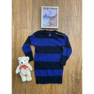 Baby Gap Girls 18-24 Mo Purple Black Sweater Dress
